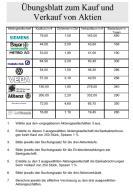 Arbeitsblätter Rechnungswesen